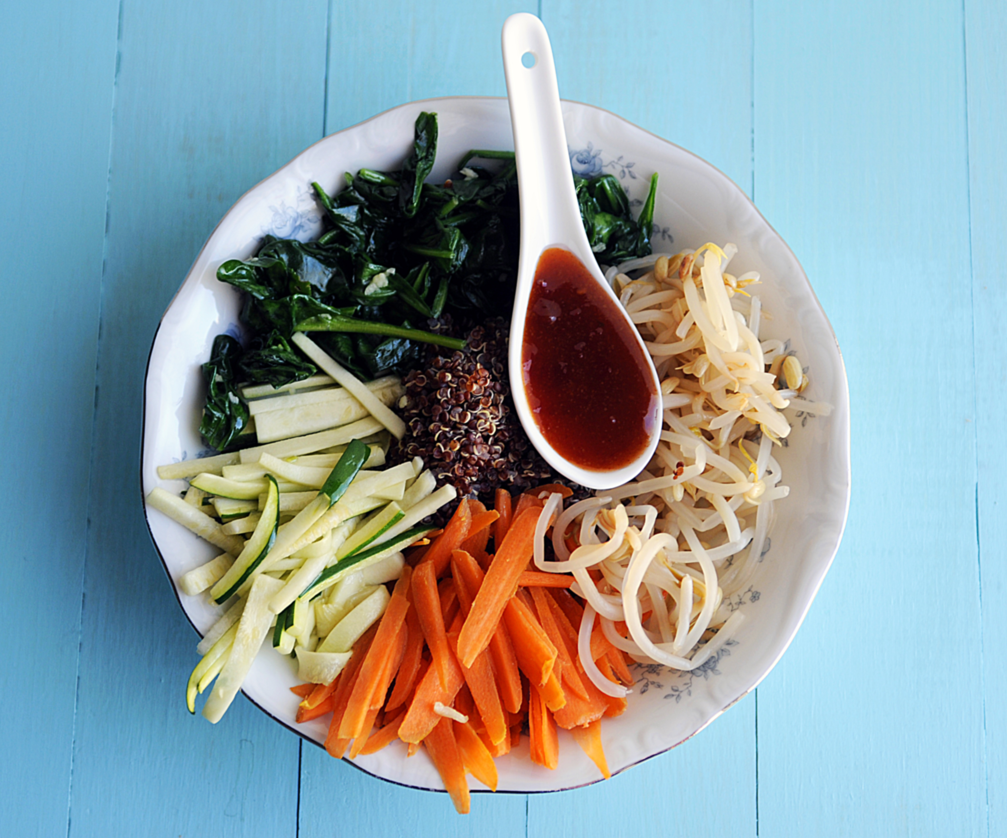 Vegetable Quinoa Bimbimbap