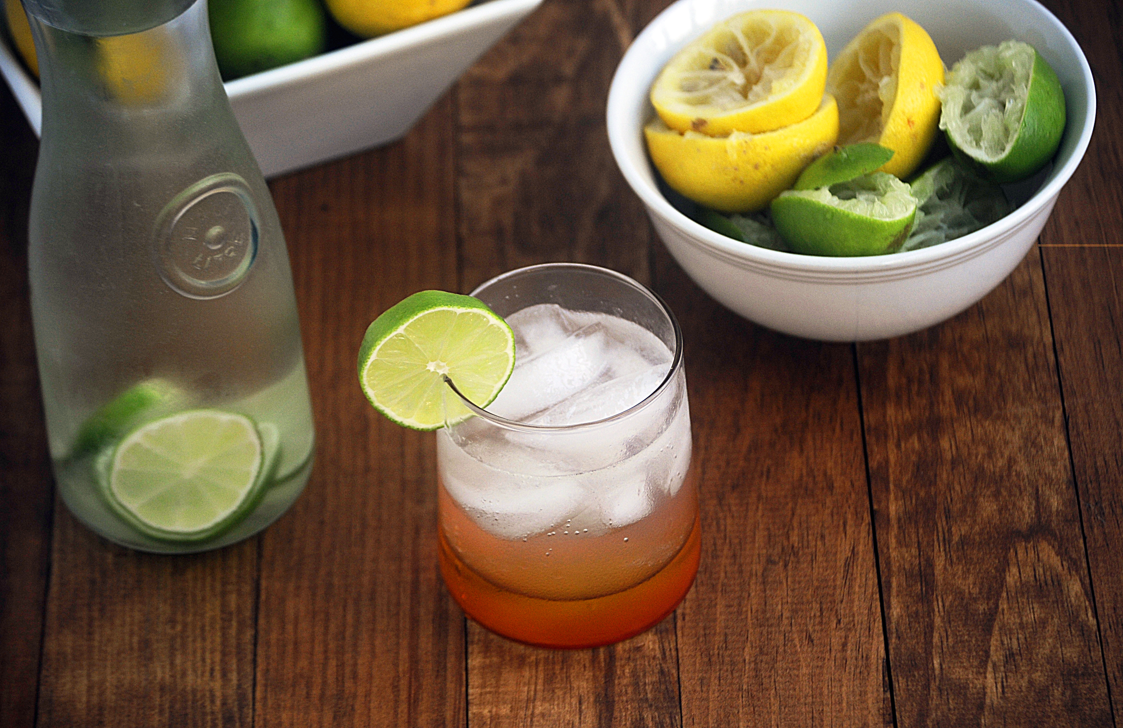 Homemade Lemon Lime Soda