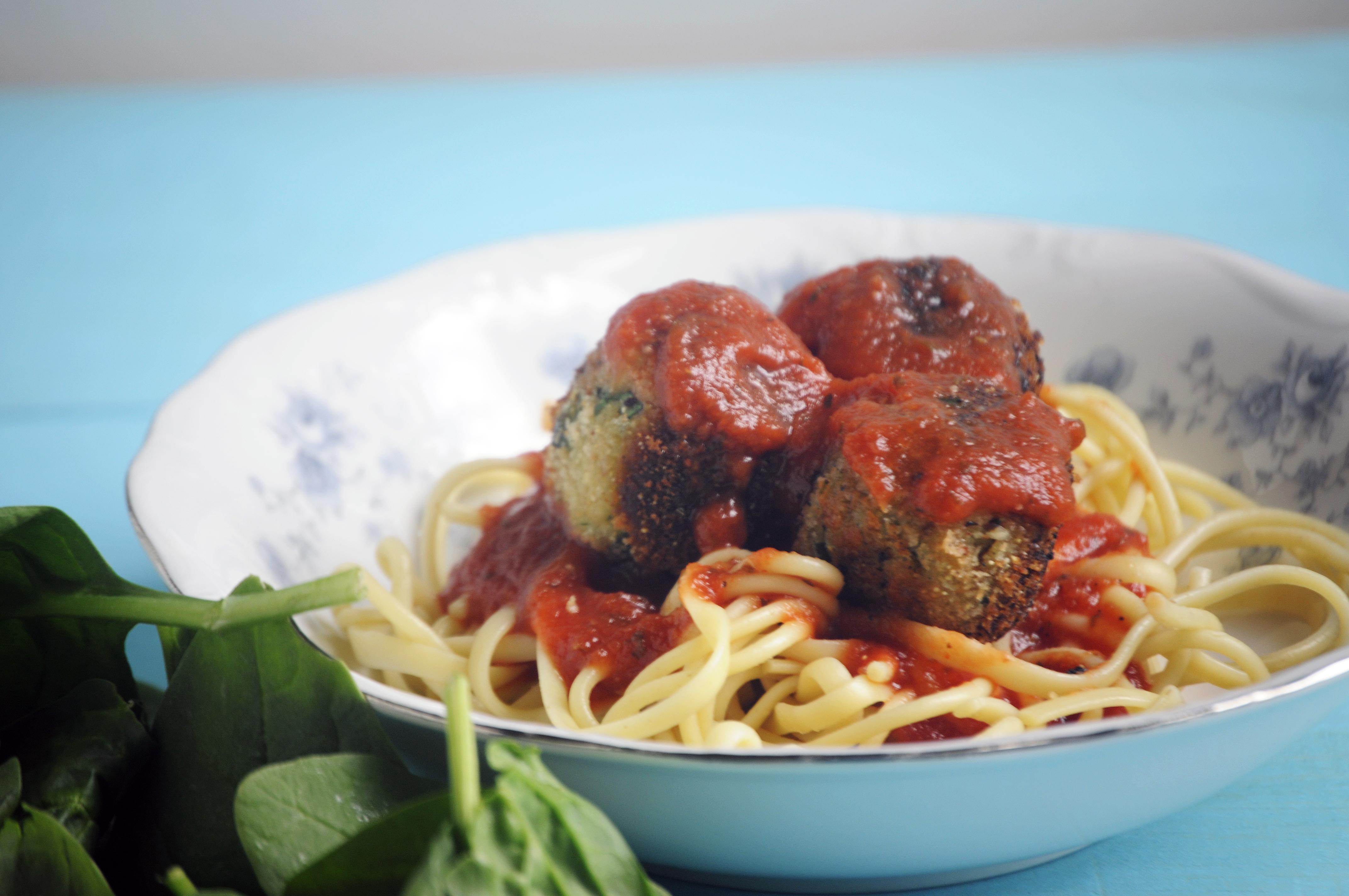 Spinach Ricotta Meatballs