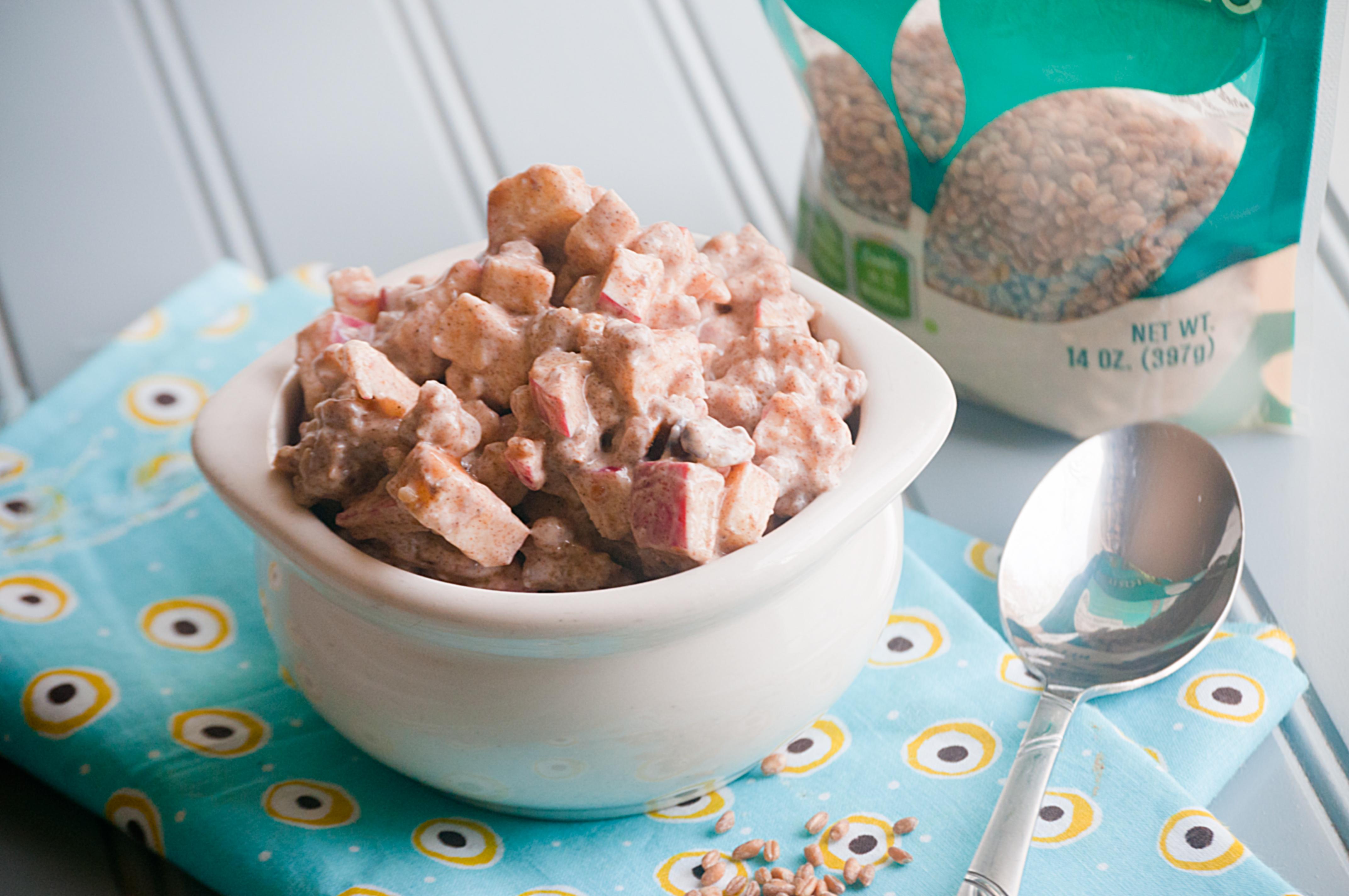 Apple Pie Wheat Berry Salad
