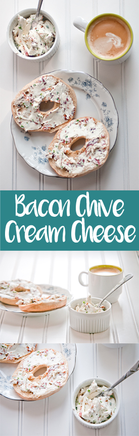 Bacon Chive Cream Cheese